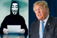 Anonymous ataca sites de Donald Trump